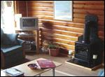 Another view inside the lodges